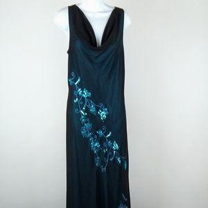 AGB maxi dress